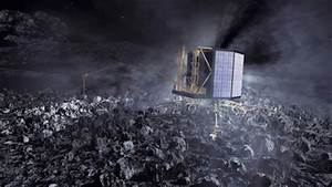 Philae Scale Comet City - Pics about space