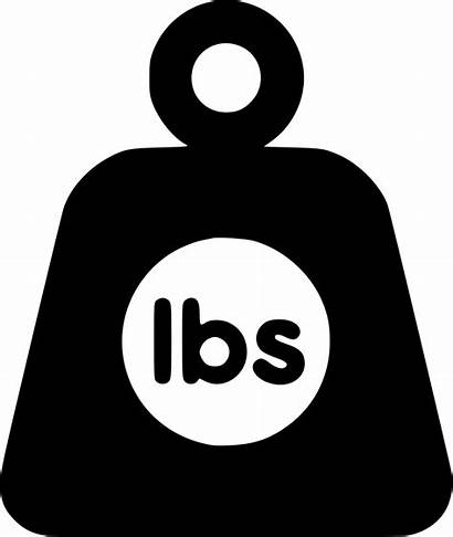 Weight Icon Clipart Lbs Svg Ibs Gas