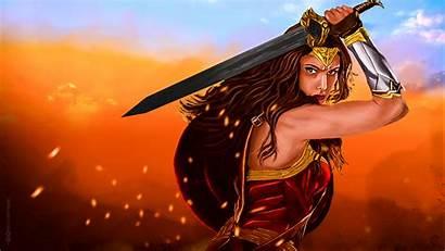 Wonder Woman 4k Dc Wallpapers Comics Warrior