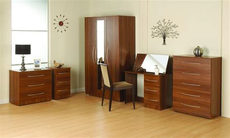 wall drawers bedroom tuscany furniture range in walnut veneer pl furniture