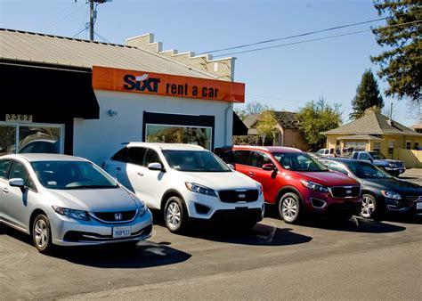 Used Car Deals From Sixt Rental Cars Of Santa Rosa See