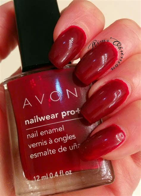 Aims' Obsession Avon Nailwear Pro + Swatch And Review