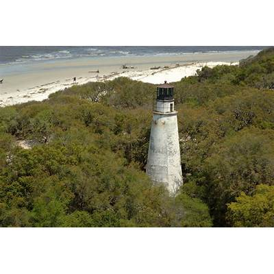 Little Cumberland Island Lighthouse in North End of