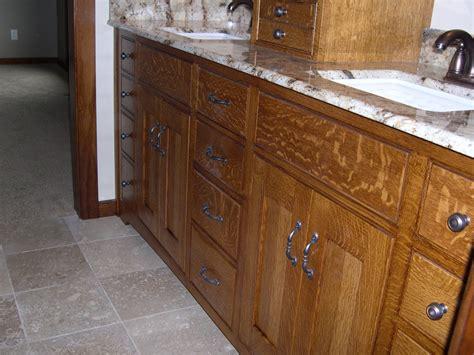oak bathroom vanity cabinets quarter sawn oak cabinets kitchen bathroom vanity
