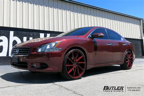 nissan maxima   vossen cvt wheels exclusively