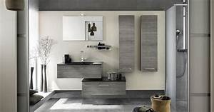 fabricant mobilier meuble salle de bain design delpha With salle de bain design avec meuble rangement salle de bain