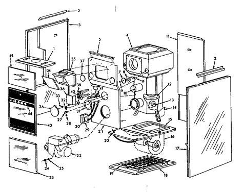 Heil Blower Motor Wiring Diagram by Heil Furnace Wiring Diagram Heil Furnace Service Wiring
