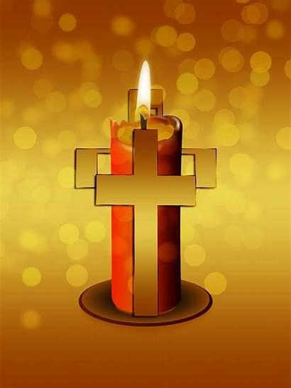 Candle Cross Religion Faith Pixabay Catholic Jesus