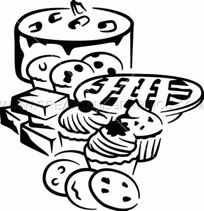 Bakery Layout Clipart Production Artwork Shirt Vector