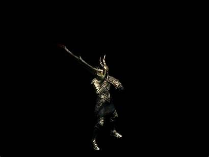 Animated Souls Knight Dark Medieval Gifs Animation