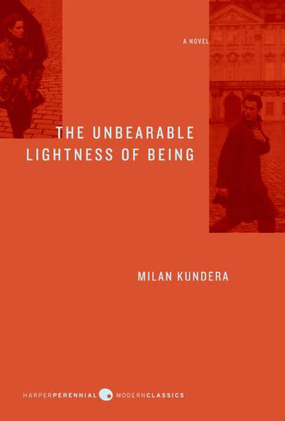 lightness of being milan kundera the unberable lightness of being falling