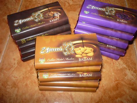 coklat ummi coklat bar  pembalut eksklusif
