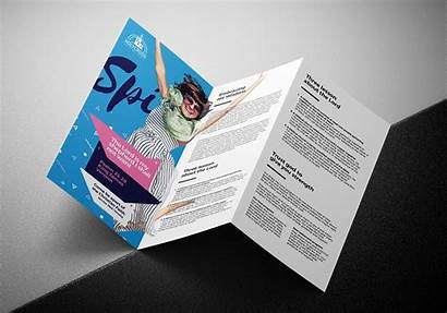 Tri Fold Brochure Template Easter Service Illustrator