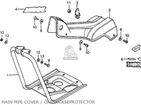 honda ct90 trail 1975 k6 usa parts list partsmanual partsfiche