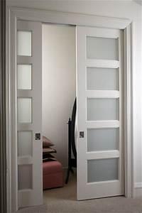 Glass pocket doors interior | Glass pocket doors design ...