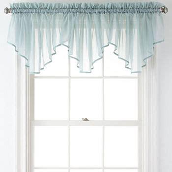 blue kitchen curtains  window jcpenney