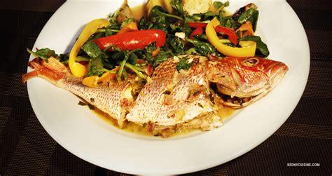 cuisine salade poisson gros sel kedny cuisine