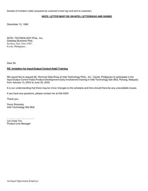 letter of invitation for visa visa invitation letter to a friend exle hdvisa 11107