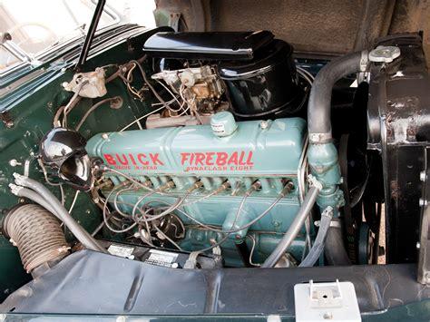 Under The Hood 1947 Buick Super Estate Wagon 59