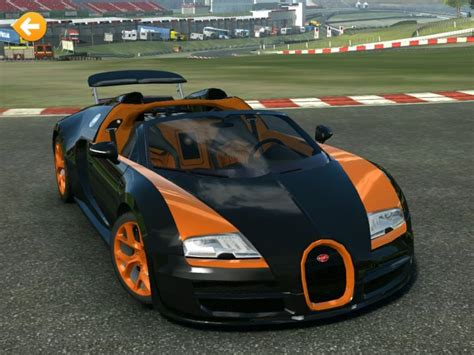 Bugatti Veyron Grand Sport Vitesse In Real Racing 3