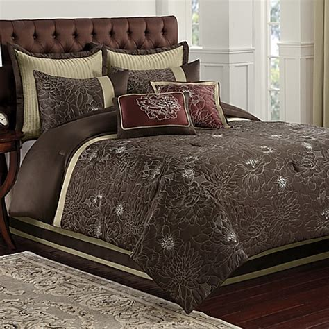 blair eggplant comforter set bed bath