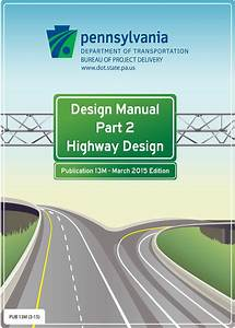 Penndot Highway Design Manual
