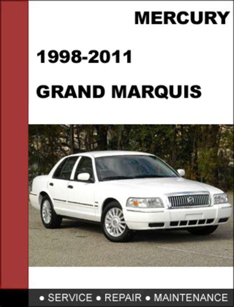 free download parts manuals 2005 mercury grand marquis parking system mercury grand marquis 1998 to 2011 factory workshop service repair