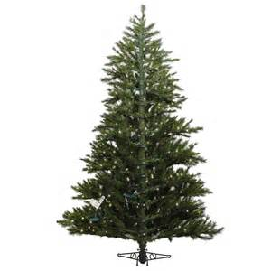 9 foot westbrook pine half christmas tree all lit lights a803981 vickerman