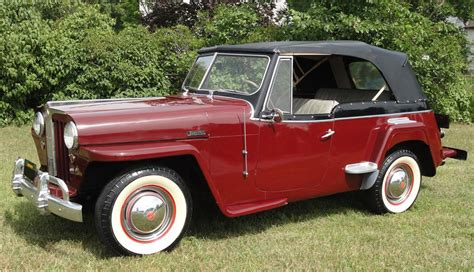 1949 Willys Jeepster Convertible 112844
