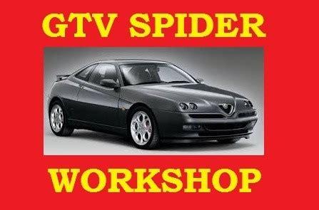 Alfa Romeo Gtv Spider Workshop Service Repair