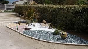 Galet De Decoration : d coration jardin galets blancs ~ Premium-room.com Idées de Décoration