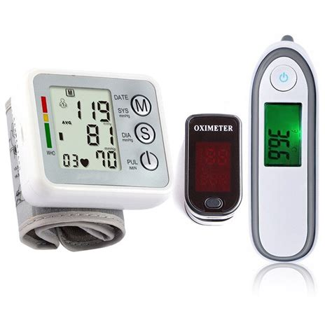 Medical Equipment Body Infrared Thermometer Finger Pulse