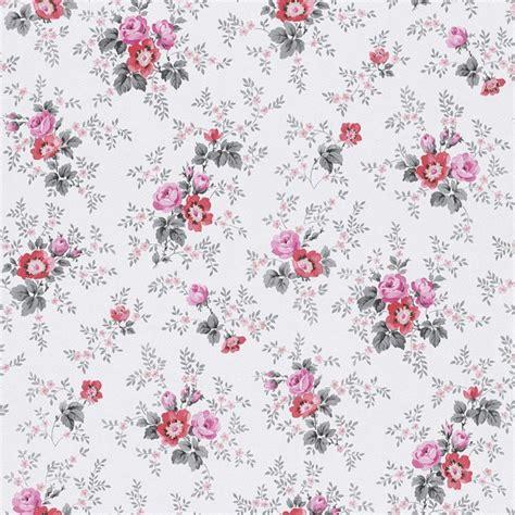 tapete rot grau tapete blumen grau rosa rot rasch textil tapeten fleur 3 285054
