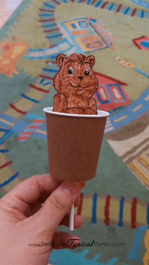 groundhog day preschool ideas craft activity song 991 | IMG 20140130 102731 663