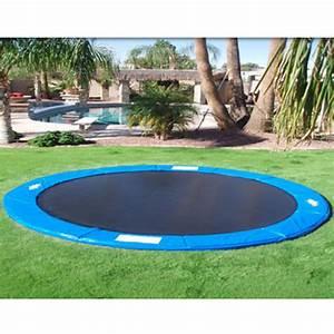 Prix D Un Trampoline : installation d 39 un trampoline enterr trampoline expert ~ Dailycaller-alerts.com Idées de Décoration