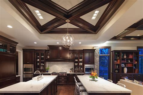 white countertops kitchen chicago illinois interior photographers custom luxury home