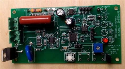 Steval Ihmv Universal Motor Driver With Speed