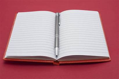 Notebook Open Note Books Blank Lined Exercise
