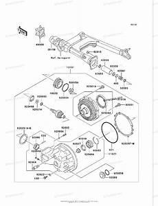 Kawasaki Motorcycle 2002 Oem Parts Diagram For Drive Shaft