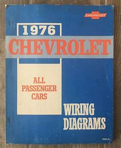 Details About 1976 Chevrolet Cars Wiring Diagrams Camaro