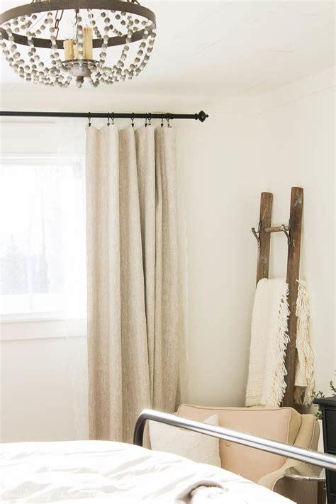 diy custom lined curtains  easier