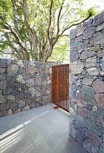 Holztür Selber Bauen : diy trockenmauer gabionen steinwand selber bauen ohne ~ Lizthompson.info Haus und Dekorationen