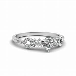 2018 popular women white gold wedding bands With womens wedding rings white gold