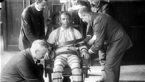 chaise electrique execution la chaise électrique est 125 ans et menace de gagner du