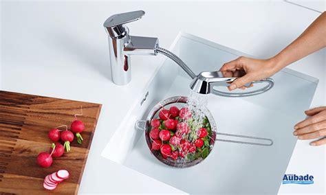 mitigeur cuisine avec douchette franke robinet de cuisine avec douchette grohe eurodisc espace
