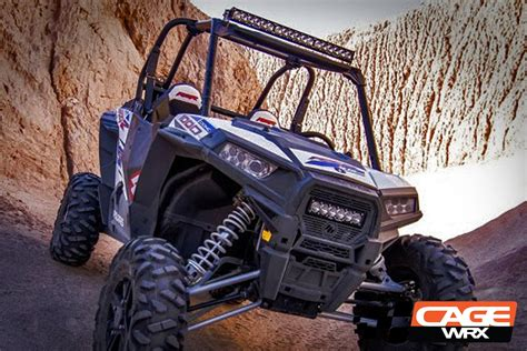 oem polaris rzr grille onx6 led light bar kit