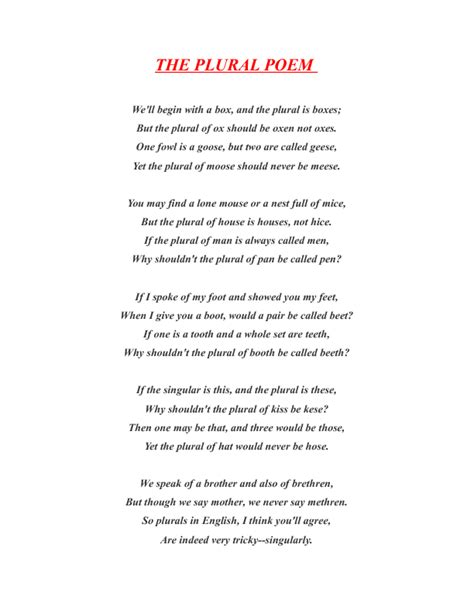 5 forms of love the plural poem