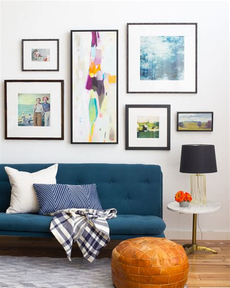 Living Room Decor Photo Gallery by Wall Decoration Ideas Photo Wall How To Create Organize