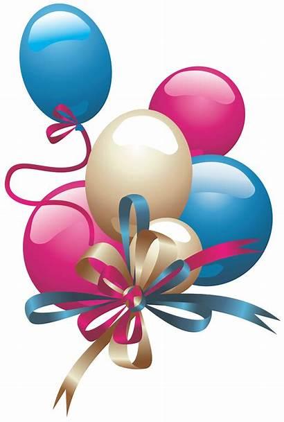 Balloons Birthday Happy Transparent