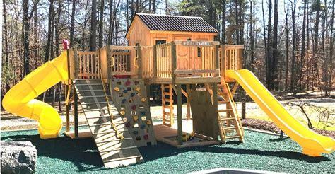 play set playground plans diy backyard blueprints